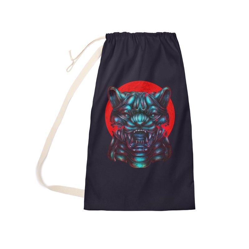 Blood Moon Panther Accessories Bag by villainmazk's Artist Shop
