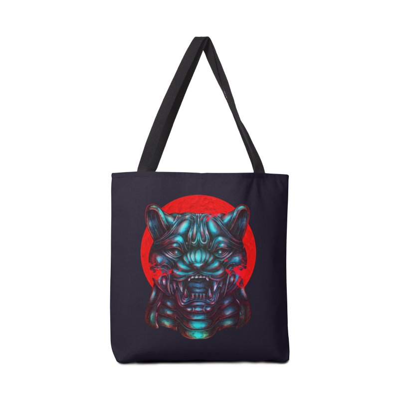 Blood Moon Panther Accessories Bag by villainmazk's Artist Shop