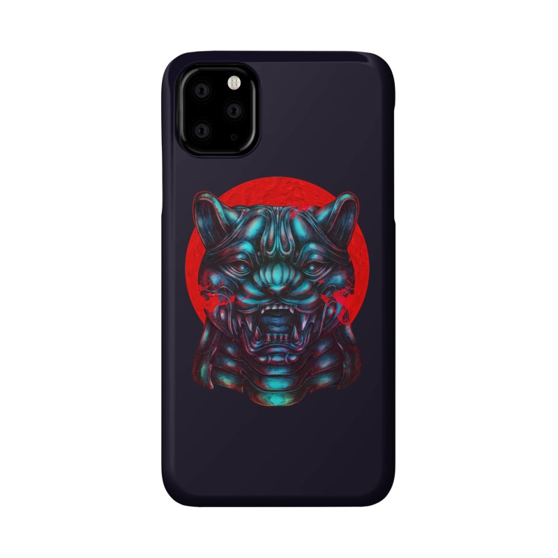 Blood Moon Panther Accessories Phone Case by villainmazk's Artist Shop