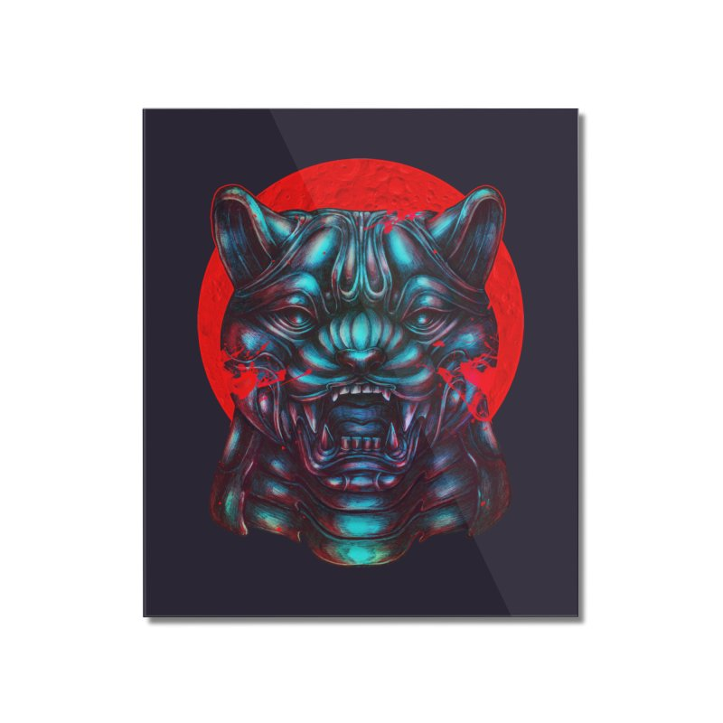 Blood Moon Panther Home Mounted Acrylic Print by villainmazk's Artist Shop