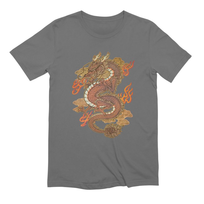Golden Dragon Men's Lounge Pants by villainmazk's Artist Shop