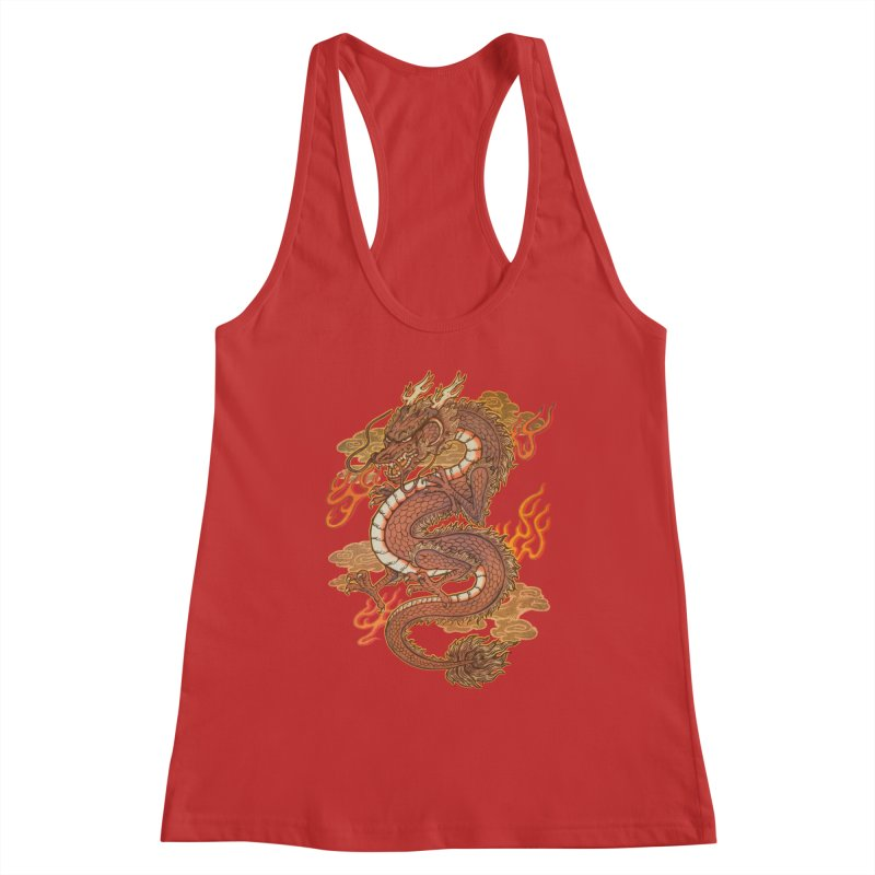 Golden Dragon Women's Tank by villainmazk's Artist Shop