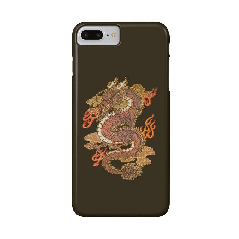 Golden Dragon Accessories Phone Case by villainmazk's Artist Shop