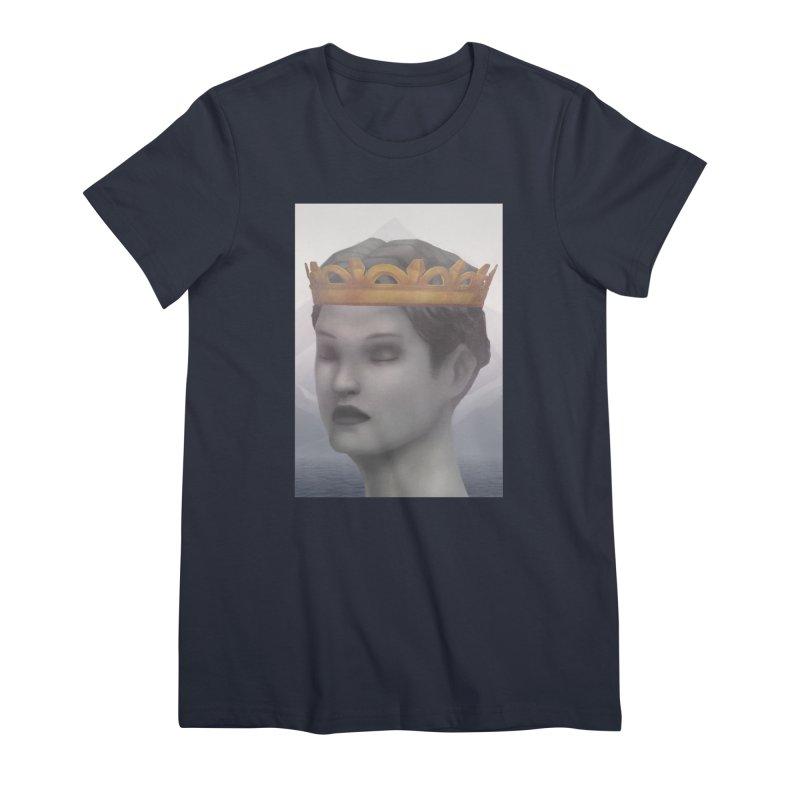 KING OF THE WASTELAND Women's Premium T-Shirt by villainmazk's Artist Shop