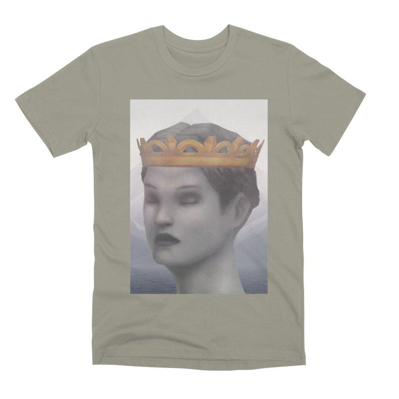 KING OF THE WASTELAND Men's Premium T-Shirt by villainmazk's Artist Shop