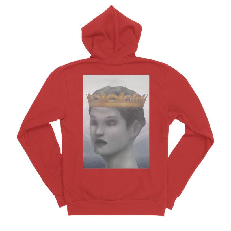 KING OF THE WASTELAND Women's Sponge Fleece Zip-Up Hoody by villainmazk's Artist Shop
