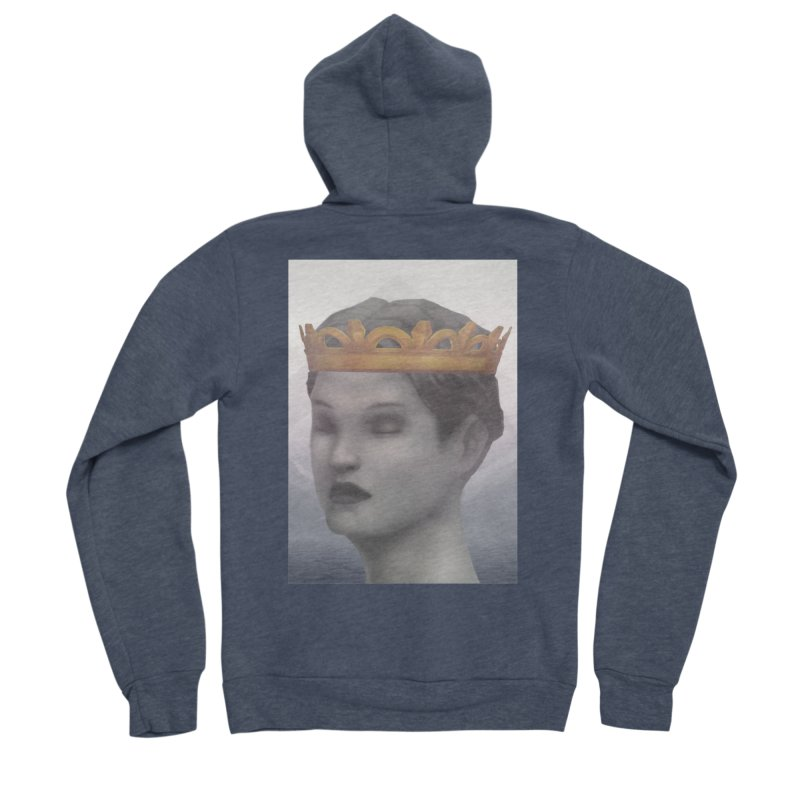 KING OF THE WASTELAND Women's Zip-Up Hoody by villainmazk's Artist Shop