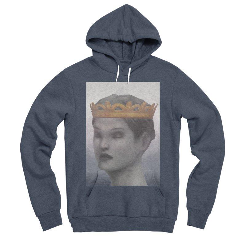 KING OF THE WASTELAND Men's Sponge Fleece Pullover Hoody by villainmazk's Artist Shop