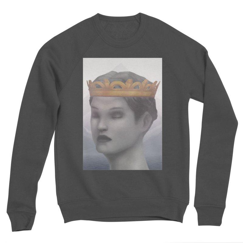 KING OF THE WASTELAND Men's Sponge Fleece Sweatshirt by villainmazk's Artist Shop
