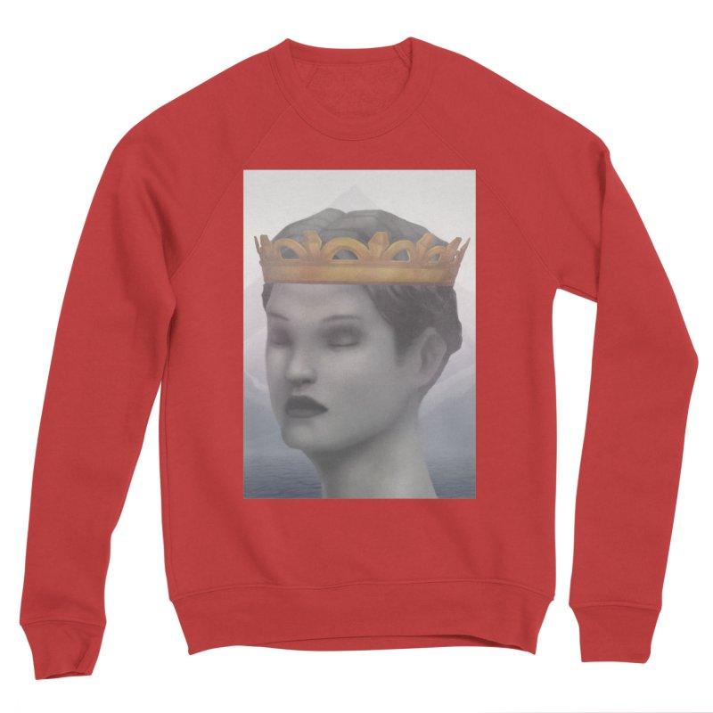 KING OF THE WASTELAND Women's Sponge Fleece Sweatshirt by villainmazk's Artist Shop