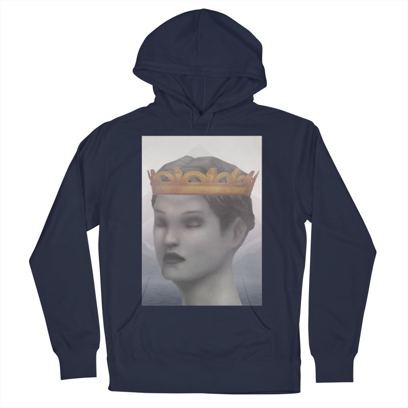 KING OF THE WASTELAND Women's French Terry Pullover Hoody by villainmazk's Artist Shop