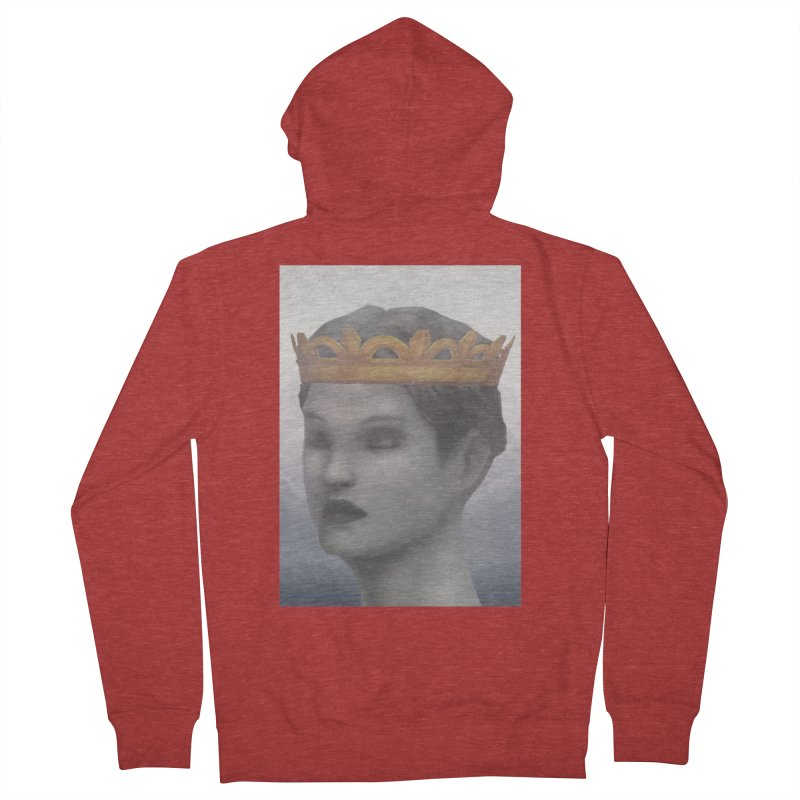 KING OF THE WASTELAND Women's French Terry Zip-Up Hoody by villainmazk's Artist Shop