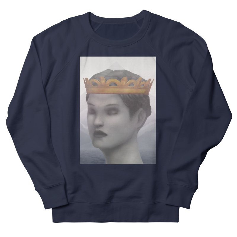 KING OF THE WASTELAND Women's French Terry Sweatshirt by villainmazk's Artist Shop