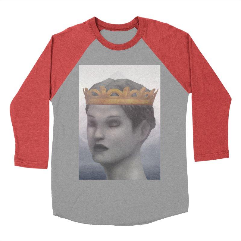 KING OF THE WASTELAND Women's Baseball Triblend Longsleeve T-Shirt by villainmazk's Artist Shop