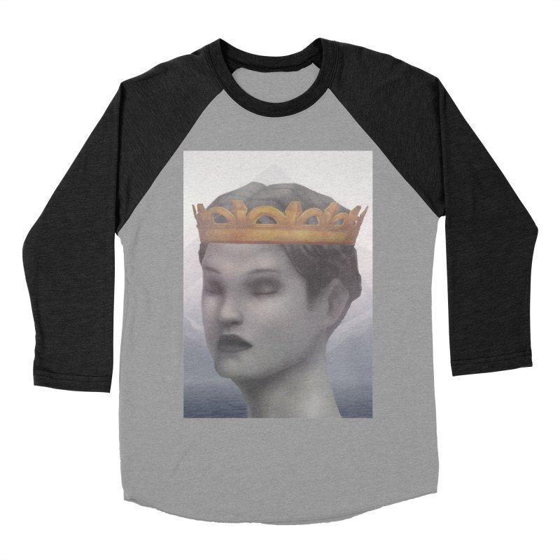 KING OF THE WASTELAND Men's Baseball Triblend Longsleeve T-Shirt by villainmazk's Artist Shop