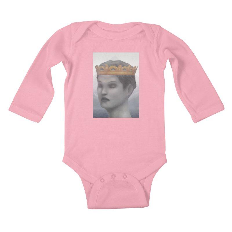 KING OF THE WASTELAND Kids Baby Longsleeve Bodysuit by villainmazk's Artist Shop