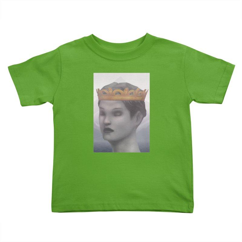 KING OF THE WASTELAND Kids Toddler T-Shirt by villainmazk's Artist Shop