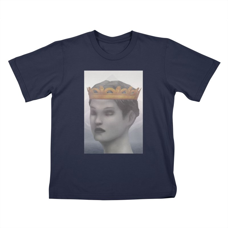 KING OF THE WASTELAND Kids T-Shirt by villainmazk's Artist Shop