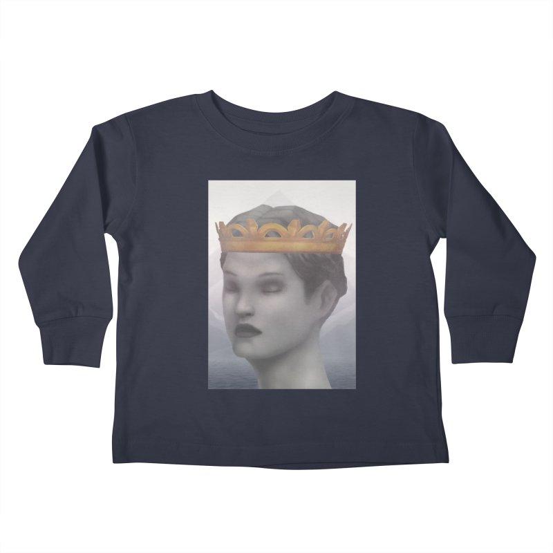 KING OF THE WASTELAND Kids Toddler Longsleeve T-Shirt by villainmazk's Artist Shop