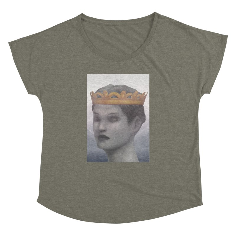 KING OF THE WASTELAND Women's Dolman Scoop Neck by villainmazk's Artist Shop