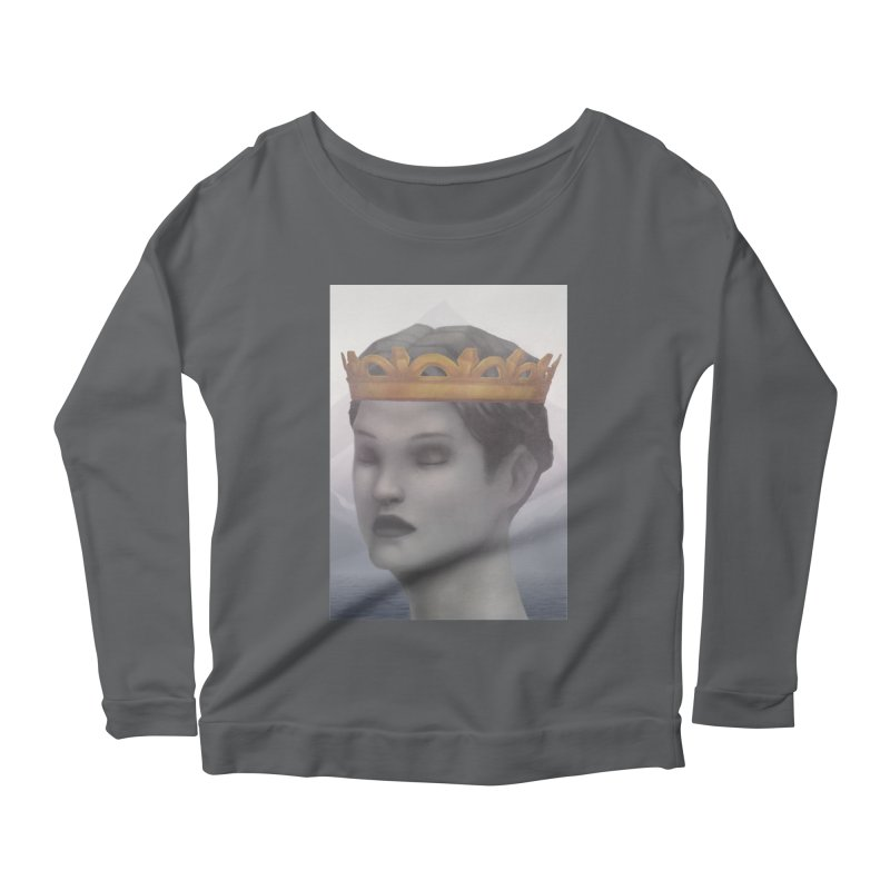 KING OF THE WASTELAND Women's Scoop Neck Longsleeve T-Shirt by villainmazk's Artist Shop