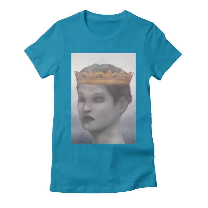 KING OF THE WASTELAND Women's Fitted T-Shirt by villainmazk's Artist Shop