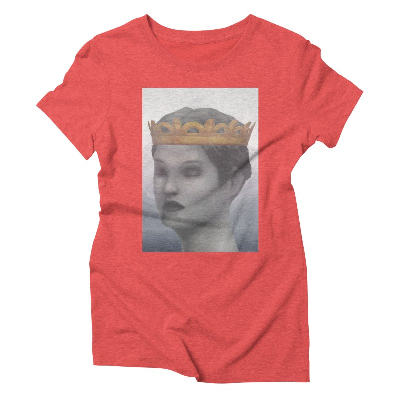 KING OF THE WASTELAND Women's Triblend T-Shirt by villainmazk's Artist Shop