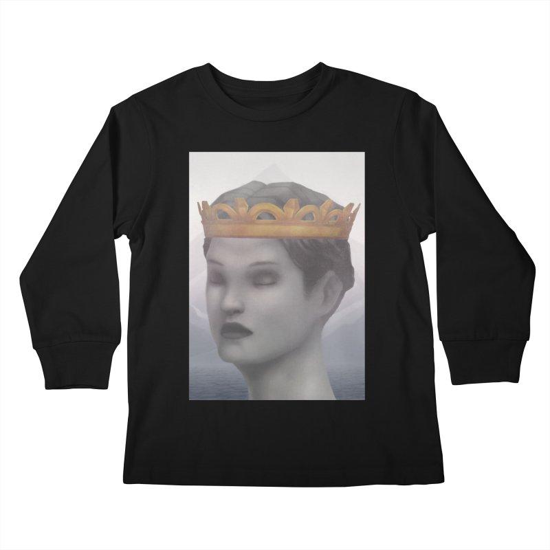 KING OF THE WASTELAND Kids Longsleeve T-Shirt by villainmazk's Artist Shop