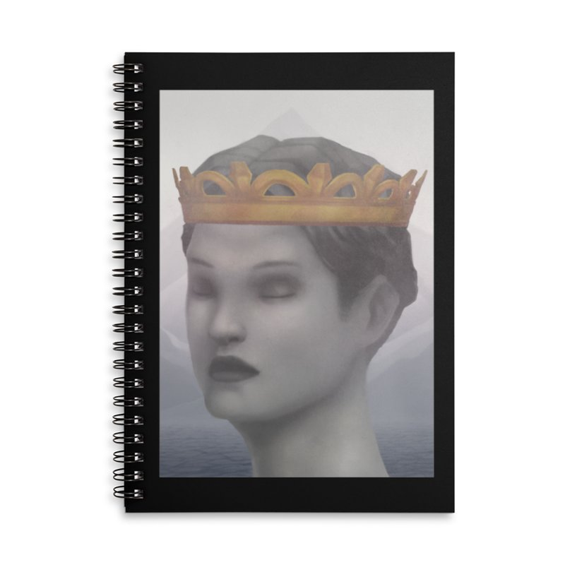 KING OF THE WASTELAND Accessories Lined Spiral Notebook by villainmazk's Artist Shop