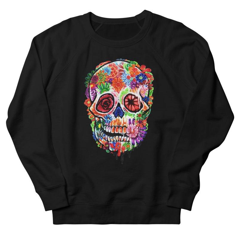 Melting Flower Women's Sweatshirt by villainmazk's Artist Shop