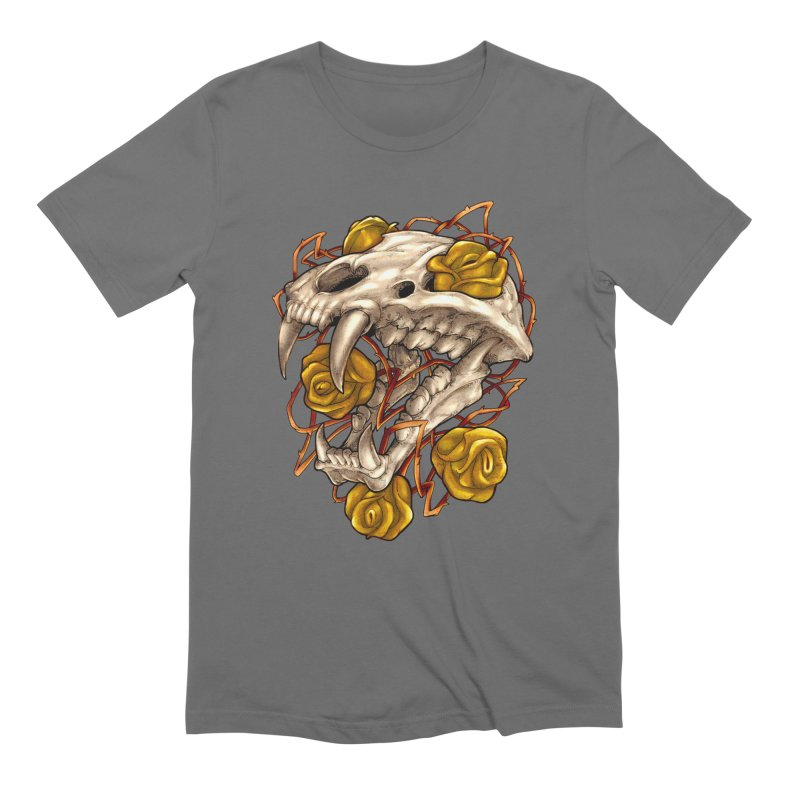 Golden Panther Men's T-Shirt by villainmazk's Artist Shop
