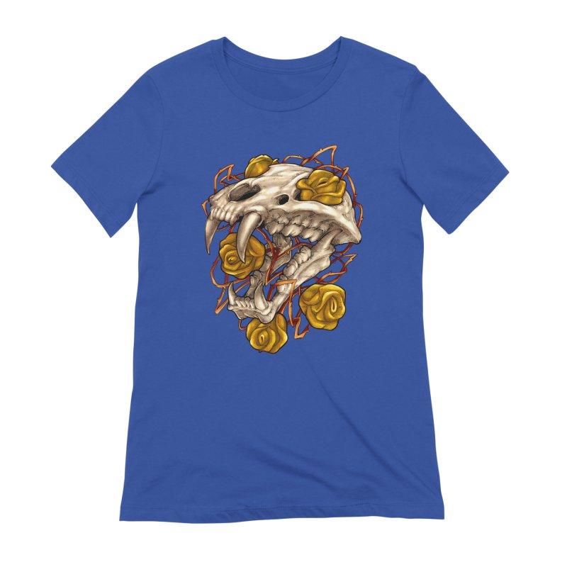 Golden Panther Women's Extra Soft T-Shirt by villainmazk's Artist Shop