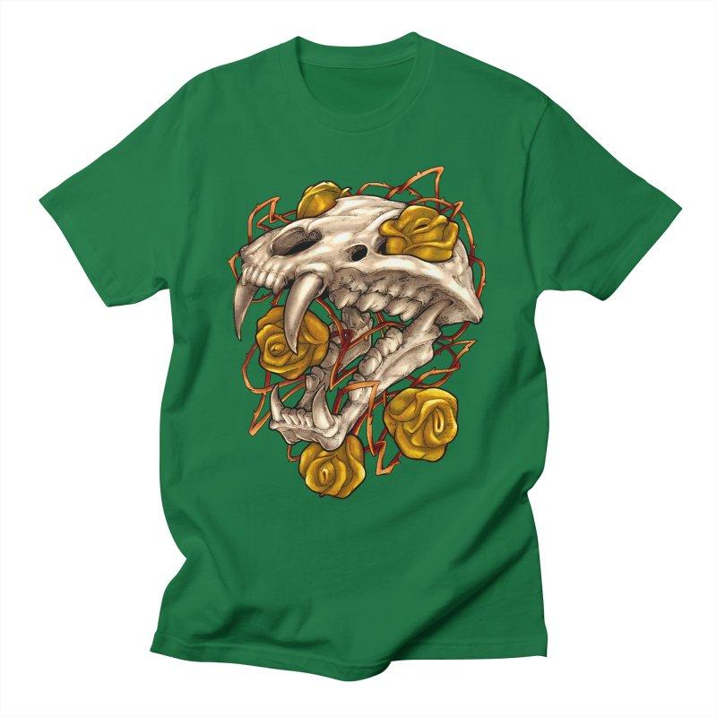 Golden Panther Men's T-Shirt by villainmazk's Artist Shop