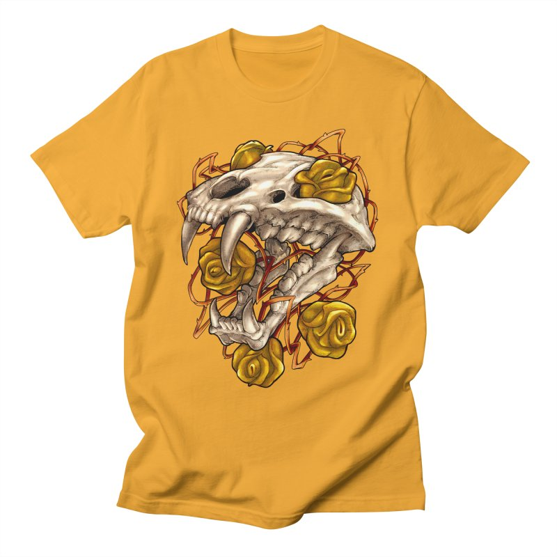Golden Panther Women's T-Shirt by villainmazk's Artist Shop