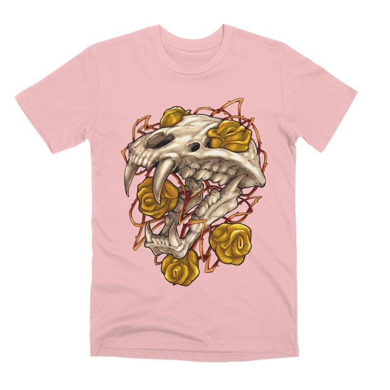 Golden Panther Men's Premium T-Shirt by villainmazk's Artist Shop