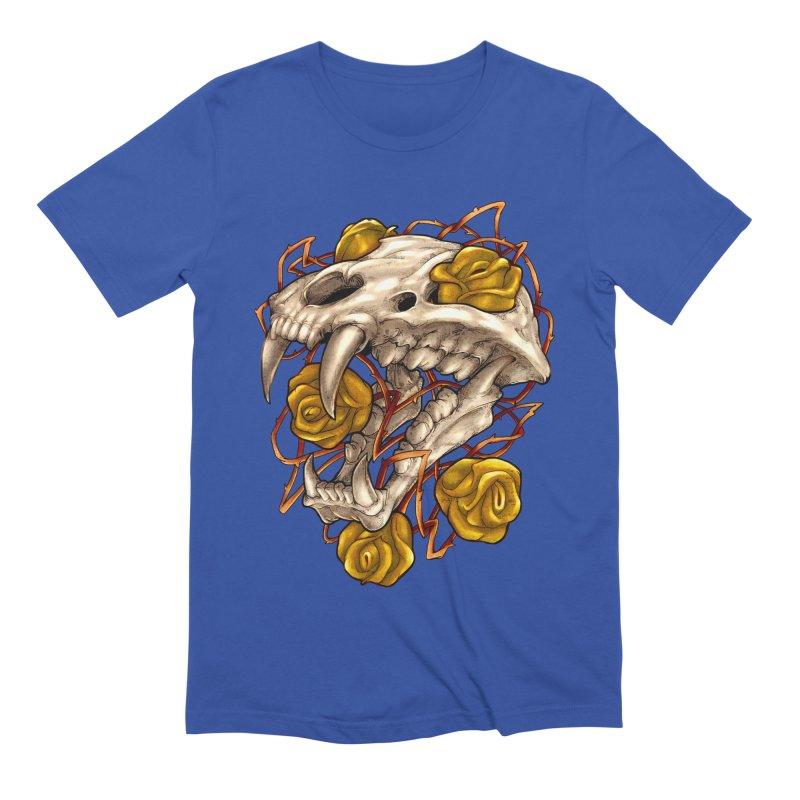 Golden Panther Men's Extra Soft T-Shirt by villainmazk's Artist Shop