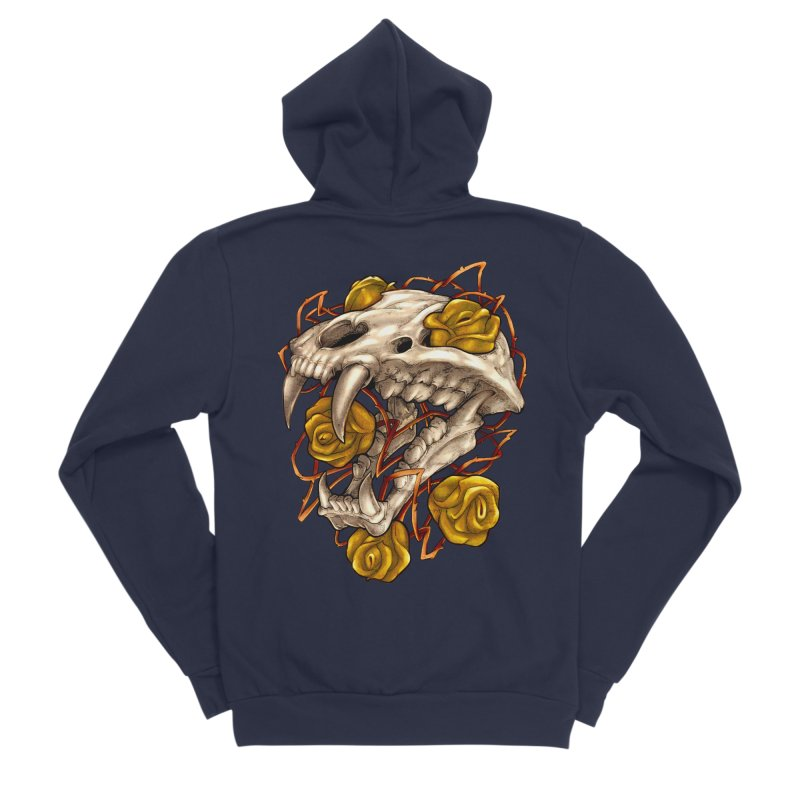 Golden Panther Women's Zip-Up Hoody by villainmazk's Artist Shop