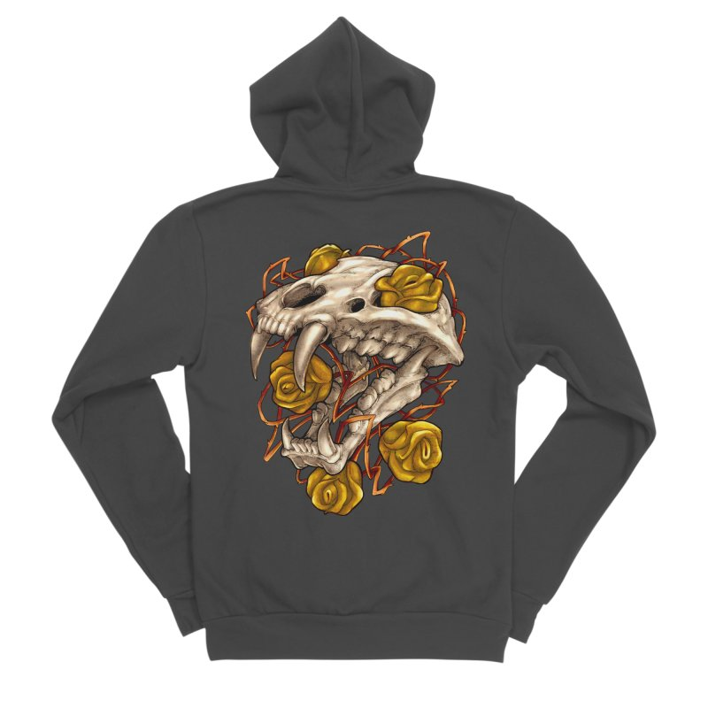 Golden Panther Women's Zip-Up Hoody by villainmazk's Artist Shop