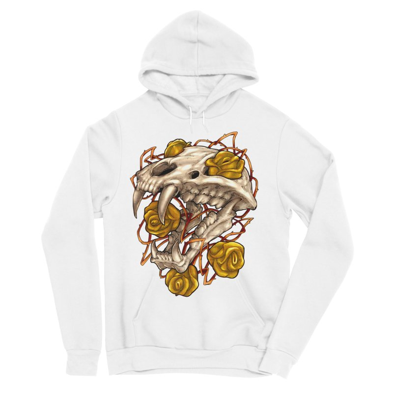 Golden Panther Women's Sponge Fleece Pullover Hoody by villainmazk's Artist Shop