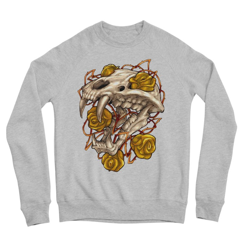 Golden Panther Men's Sponge Fleece Sweatshirt by villainmazk's Artist Shop