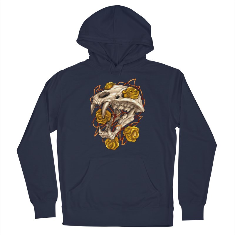 Golden Panther Men's Pullover Hoody by villainmazk's Artist Shop