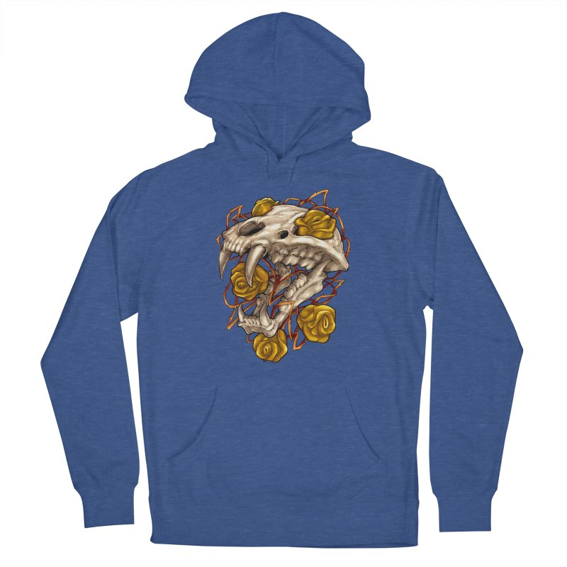 Golden Panther Women's French Terry Pullover Hoody by villainmazk's Artist Shop