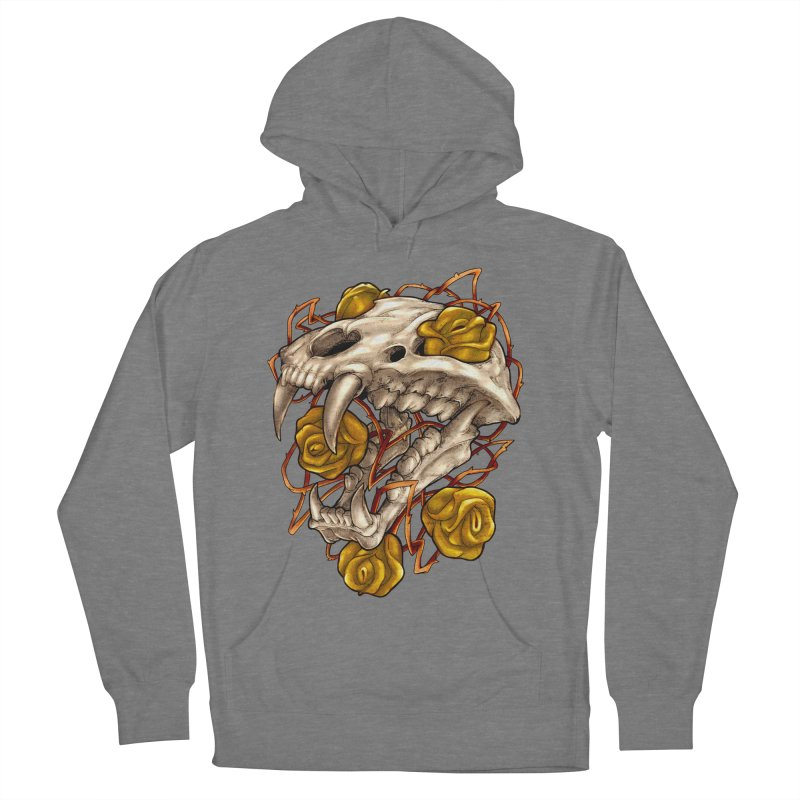Golden Panther Women's Pullover Hoody by villainmazk's Artist Shop
