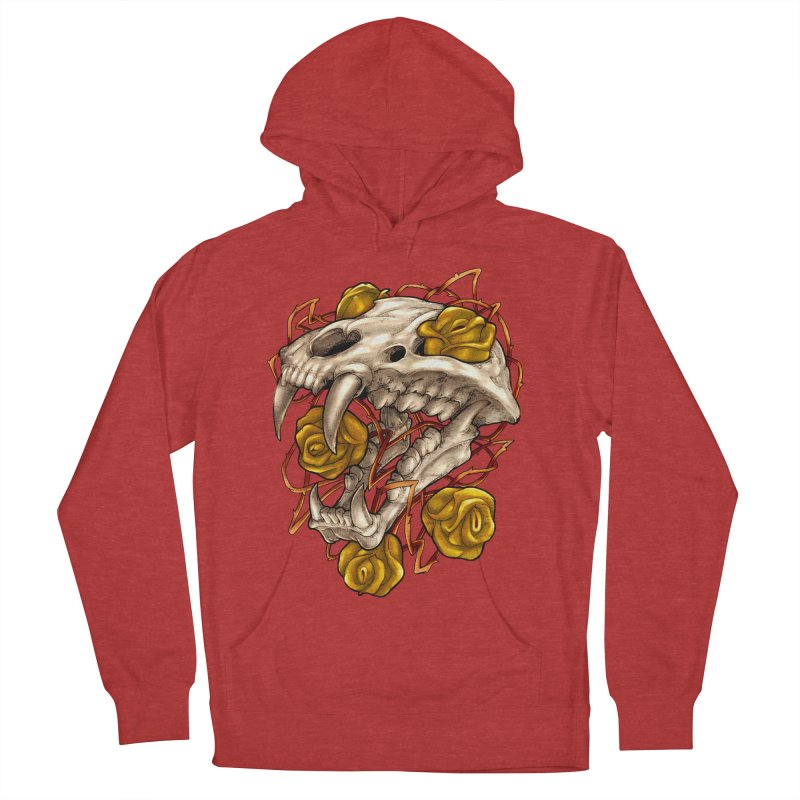 Golden Panther Men's French Terry Pullover Hoody by villainmazk's Artist Shop