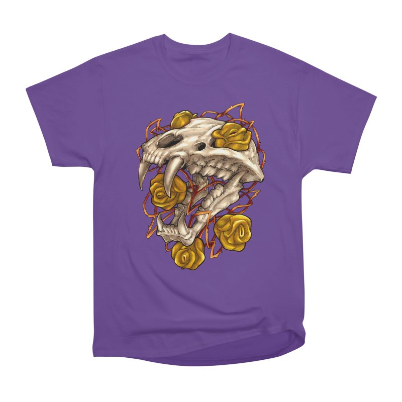 Golden Panther Men's Heavyweight T-Shirt by villainmazk's Artist Shop