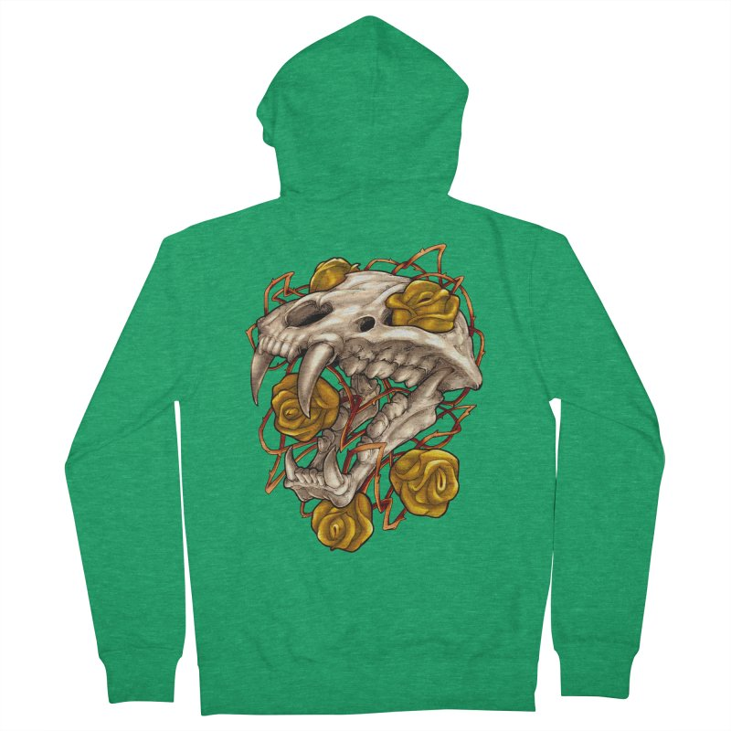 Golden Panther Men's Zip-Up Hoody by villainmazk's Artist Shop
