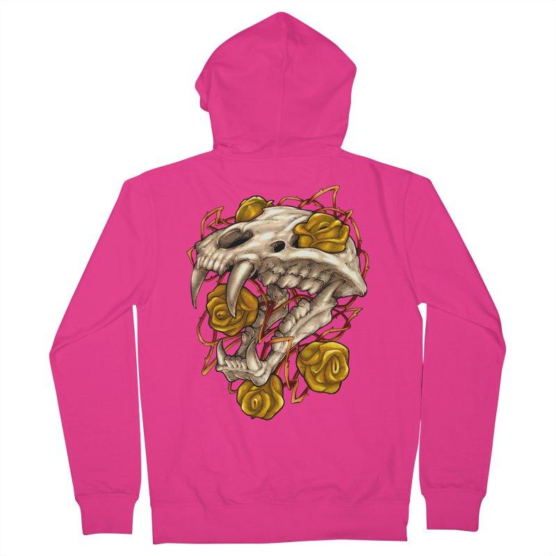 Golden Panther Men's Zip-Up Hoody by villainmazk's Artist Shop