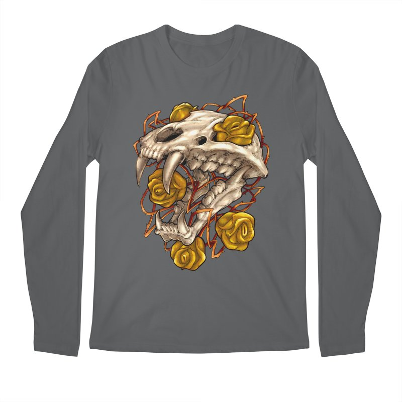 Golden Panther Men's Longsleeve T-Shirt by villainmazk's Artist Shop