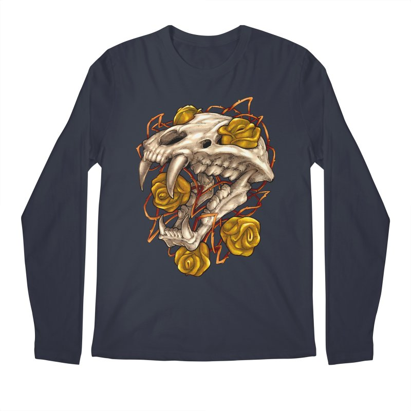 Golden Panther Men's Regular Longsleeve T-Shirt by villainmazk's Artist Shop