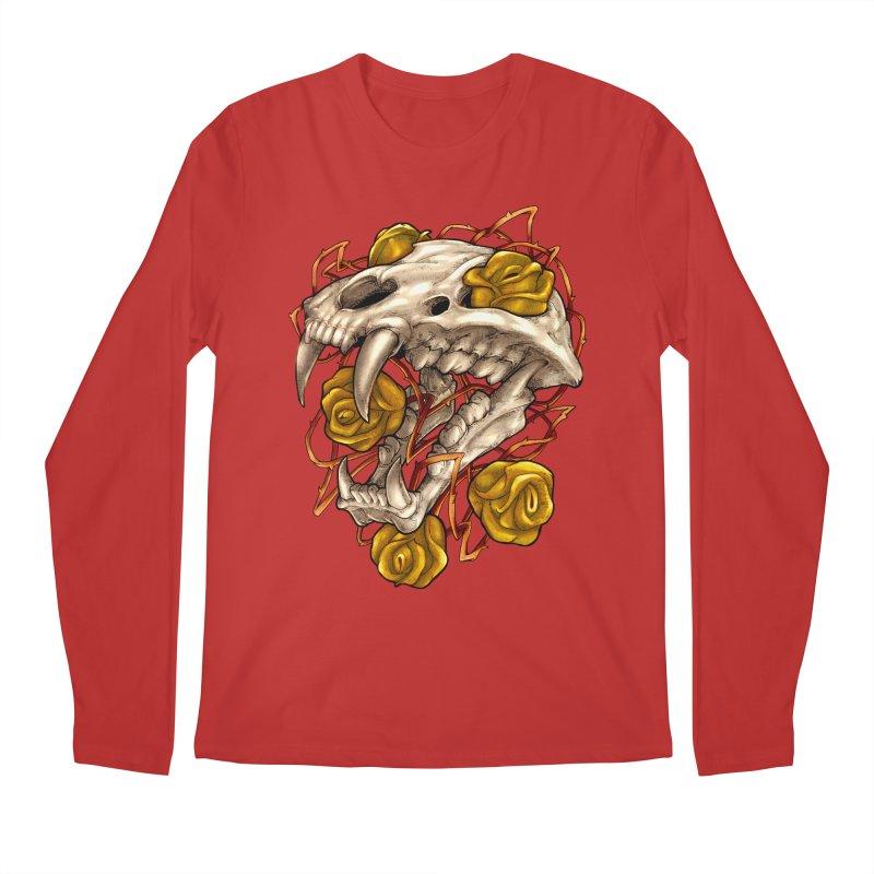 Golden Panther Men's Regular Longsleeve T-Shirt by villainmazk's Artist Shop
